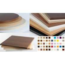 SATURNO 1.8 - Brett (Top) Tisch aus verhedeltem Holz Dicke Rand 18mm Bar, Pizzeria, Restaurant