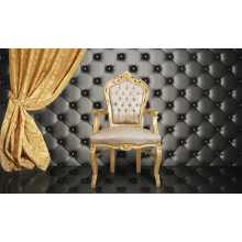 Wandbeplankung  Sofa Bar Sessel Contract, Bezug aus Ökoleder (ökologisches Leder), verschiedene Farben