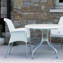 SUPER JENNY - Stapelstuhl (Sessel) aus Polypropylen mit Beinen aus Aluminuim SCAB DESIGN für Bar, Restaurant, Hotel