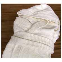 Wellness - Frotteebademantel aus reiner Baumwolle mit Kapuze für Hotel, Hotel, B & B, Spa