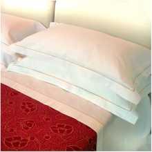 Kissenbezug von der Serie Nilo 100% Baumwolle für Hotel, b&b, Haus