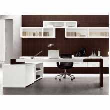 MATRIX - Schreibtisch contract Büro aus verhedeltem Holz für Büro, Studio, Hotel